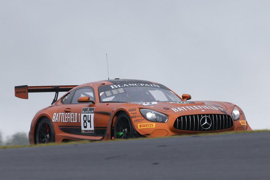 #84 HTP Motorsport Mercedes, Maxi Buhk, Franck Perera