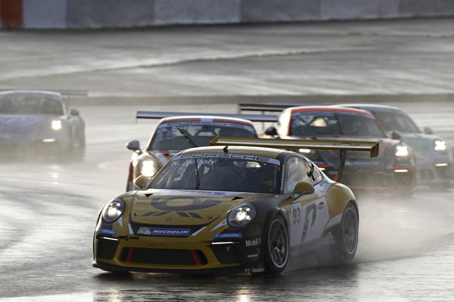 Nick Yelloly wins at Nurburgring