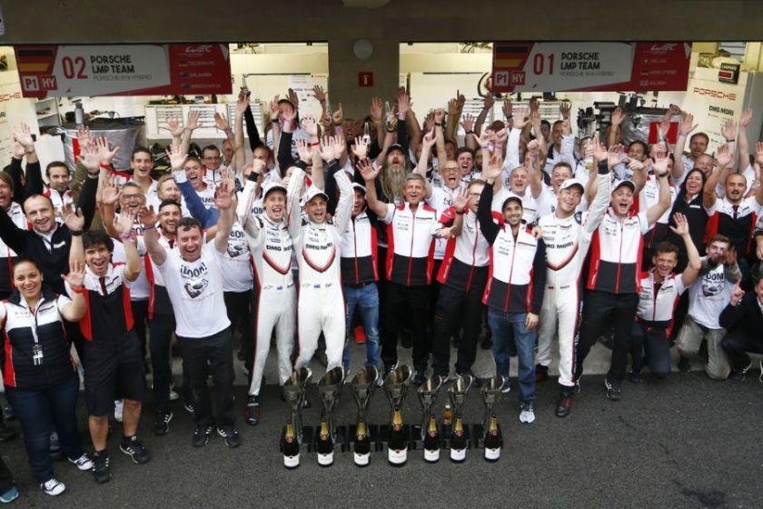 FIA WEC, 6 hours of Mexico winners Bernhard, Bamber, Hartley