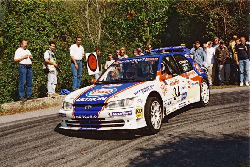 Renato Travaglia, Peugeot 306 Maxi, 1999 Sanremo