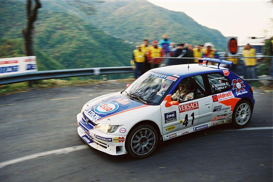 Renato Travaglia at 2000 Rallye Sanremo