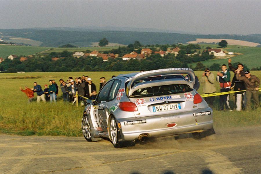 Renato Travaglia Peugeot 206 WRC 2002