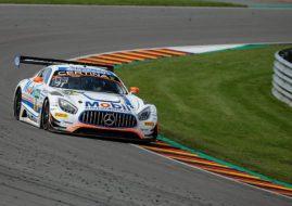 #21 Mercedes Zakspeed, ADAC GT Masters, Sachsenring