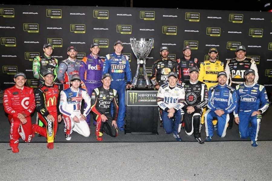 2017 Monster Energy NASCAR Cup Series Playoffs drivers