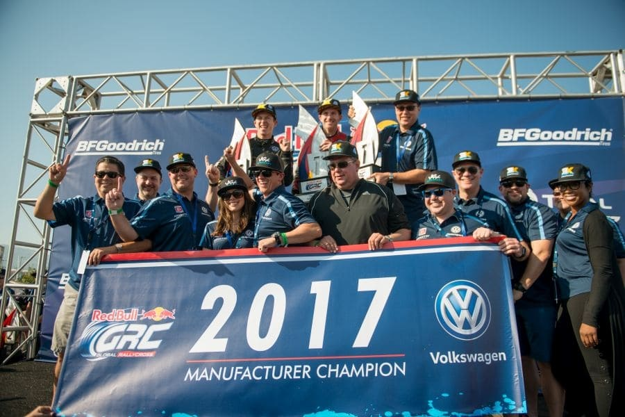 Andretti and Volkswagen takes the 2017 Global Rallycross Championship title