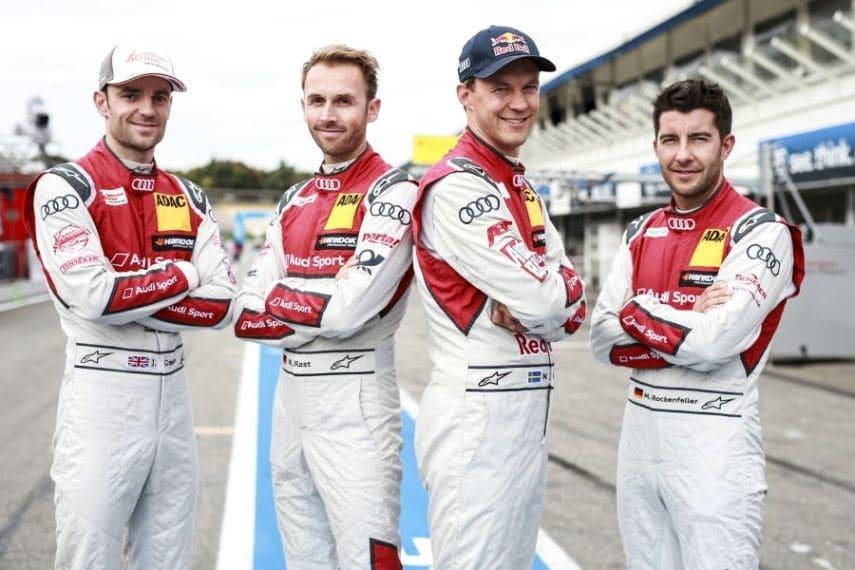 2017 DTM finale Audi drivers