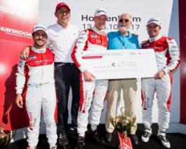 Audi Sport TT Cup: Frank Stippler wins Race of Legends