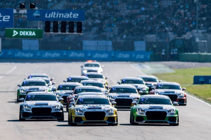 Audi Sport TT Cup Race of Legends
