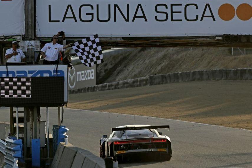 California 8 Hours Laguna Seca #44 Magnus Audi