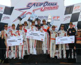 1-2 for Audi in the inaugural California 8 Hours at Laguna Seca