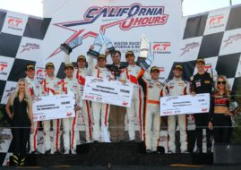California 8 Hours Laguna Seca podium