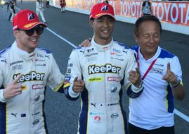 Nick Cassidy, Ryo Hirakawa, Super GT winners at Chang International Circuit