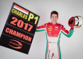 Charles Leclerc 2017 Formula 2 Champion
