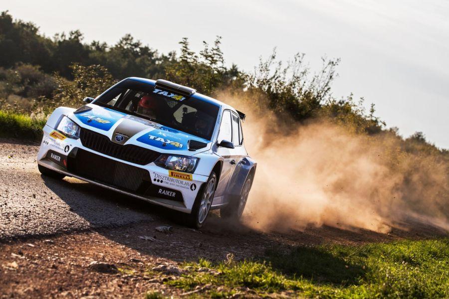2017 Croatia Rally, David Botka, Škoda Fabia R5