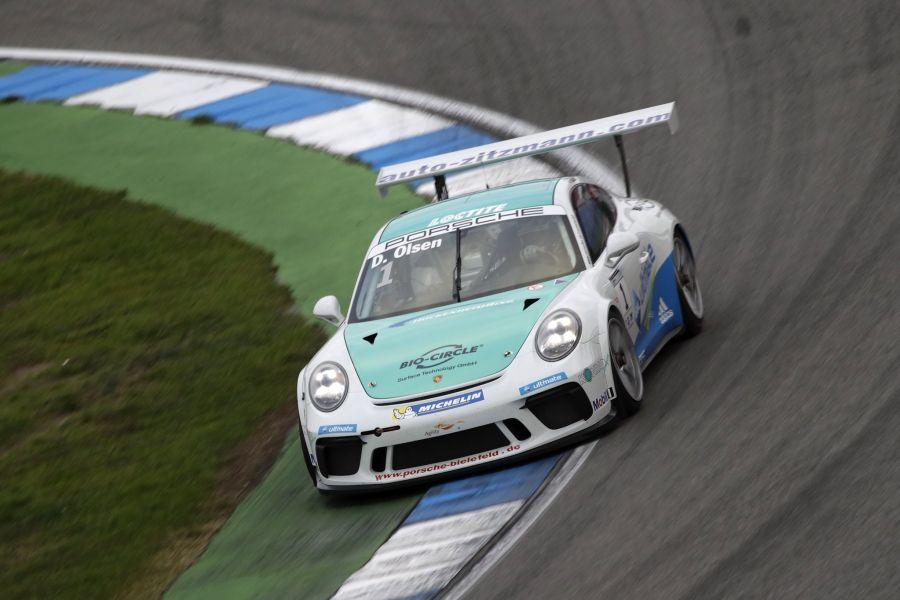 Dennis Olsen, Porsche Carrera Cup Deutschland, Hockenheimring 2017