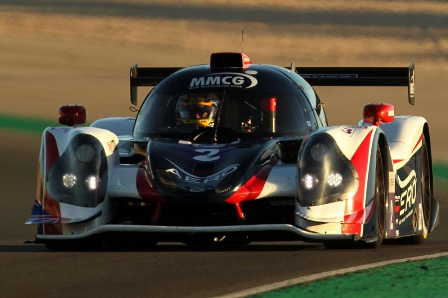 #2 Ligier JS P3 of Sean Rayhall and John Falb