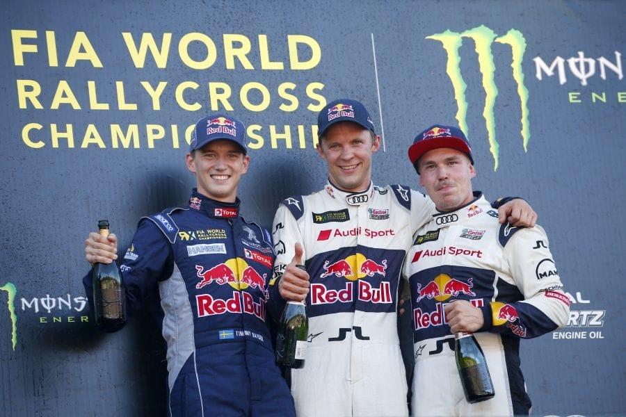 World RX, Estering podium
