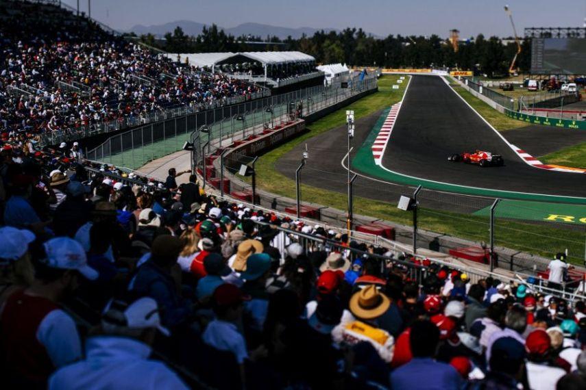 F1 Mexican Grand Prix Ferrari
