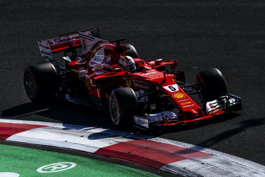 F1 Mexican Grand Prix, Sebastian Vettel