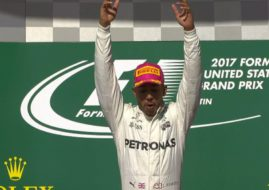 Lewis Hamilton wins the 2017 United States Grand Prix