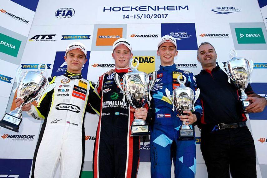 F3 Hockenheim R1 podium