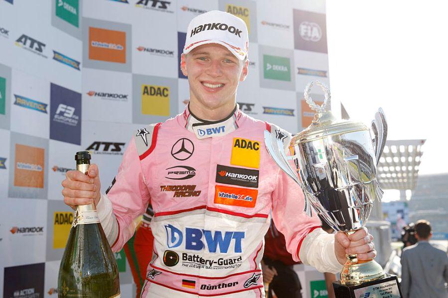 F3 Europe, Hockenheim, race 3 winner Maxi Gunther