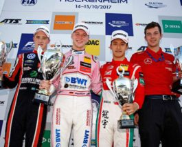 Gunther closes a season with a win, Eriksson is a championship runner-up