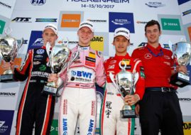 Formula 3 Europe, Hockenheim, race 3 podium