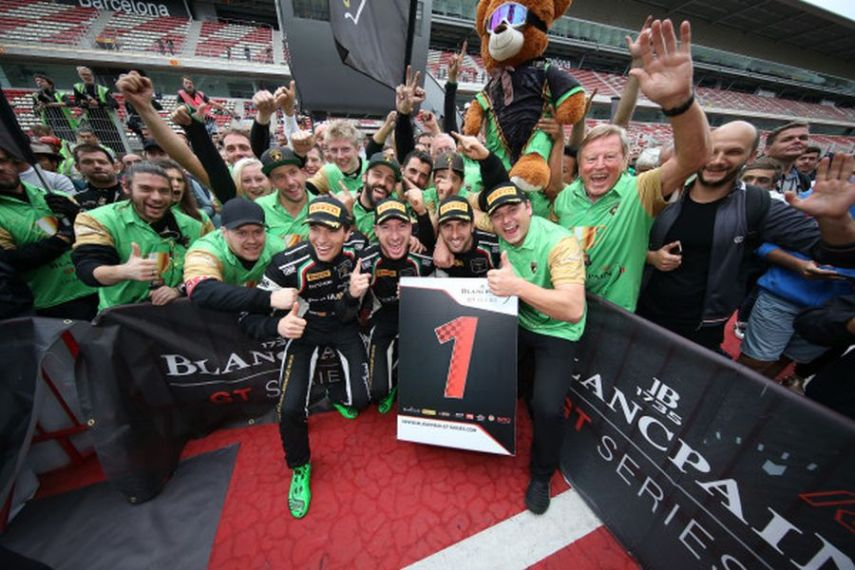 Blancpain GT Series Endurance Cup champions GRT Grasser Racing Team