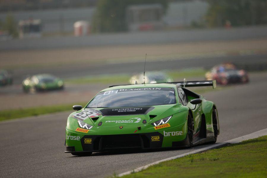 GRT Grasser Racing Team #63 Lamborghini Huracan GT3