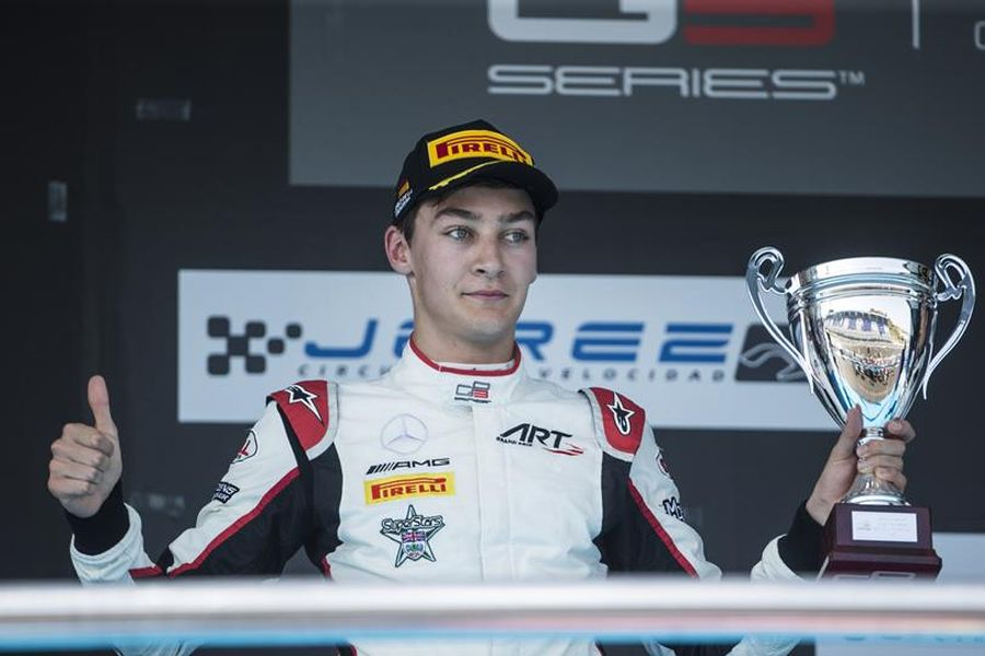 2017 GP3 Series champion George Russell