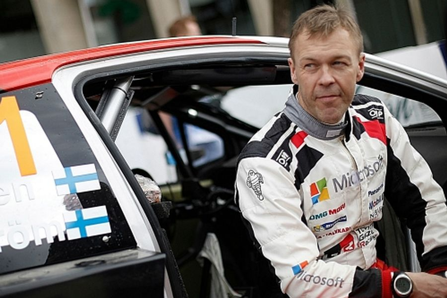 48-year-old Kaj Lindstrom is a new Sporting Director for Toyota Gazoo Racing WRC team
