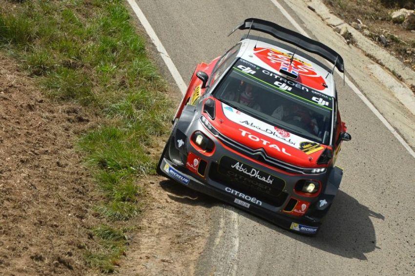 Kris Meeke, 2017 Rally Catalunya