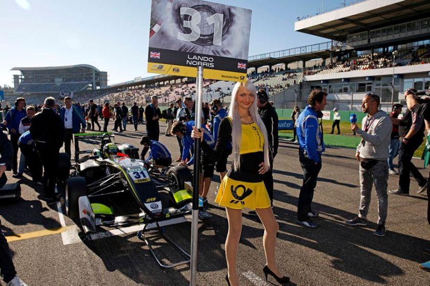 Formula 3 European Championship, Hockenheimring, Race 1 podium