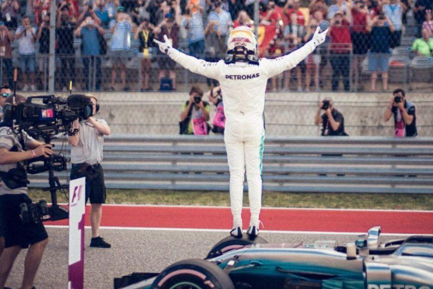 United States Grand Prix Lewis Hamilton Mercedes