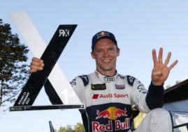 Mattias Ekström, World RX winner at Estering