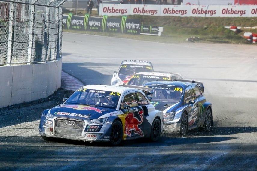 Fourth win of the season for Mattias Ekström