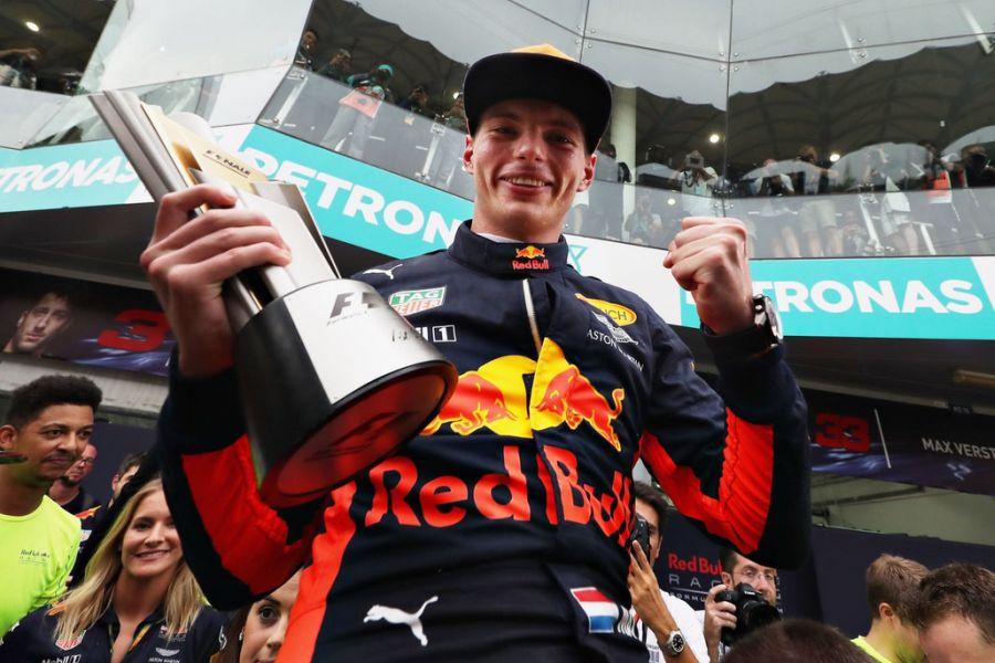 Max Verstappen, Malaysian Grand Prix winner
