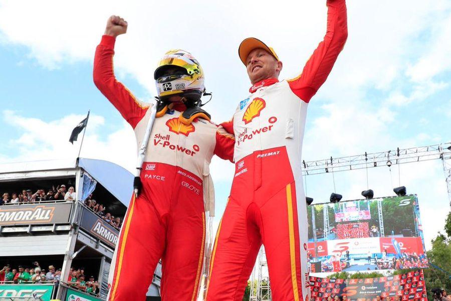 Scott McLaughlin, Alexandre Premat, Gold Coast 600 race 2 winners