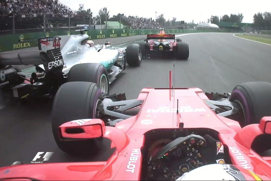 Mexican Grand Prix, Lewis Hamilton, Sebastian Vettel