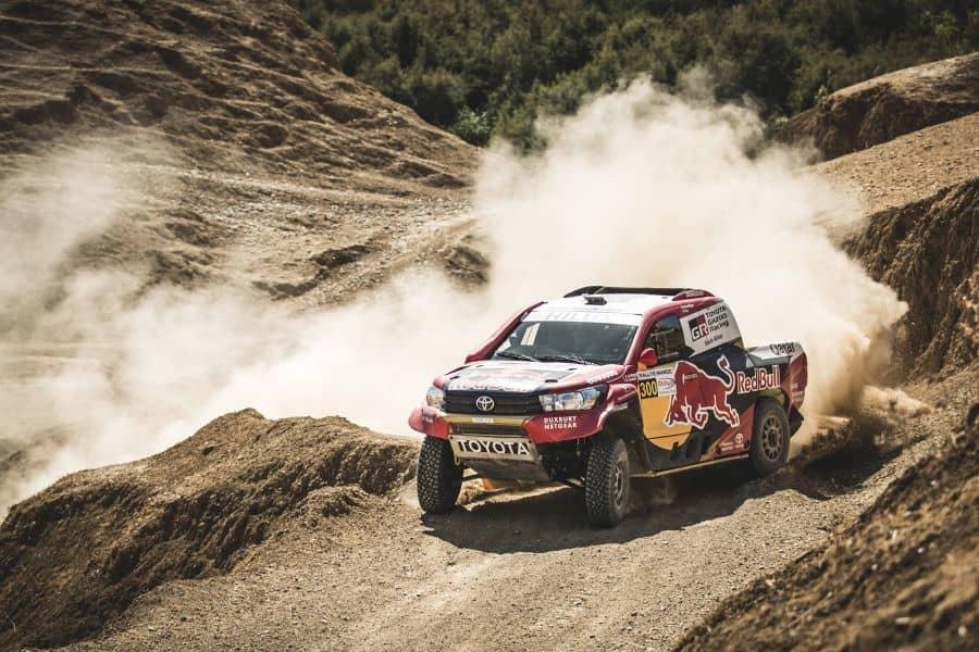 Nasser Al Attiyah, 2017 Rallye du Maroc, Toyota Hilux