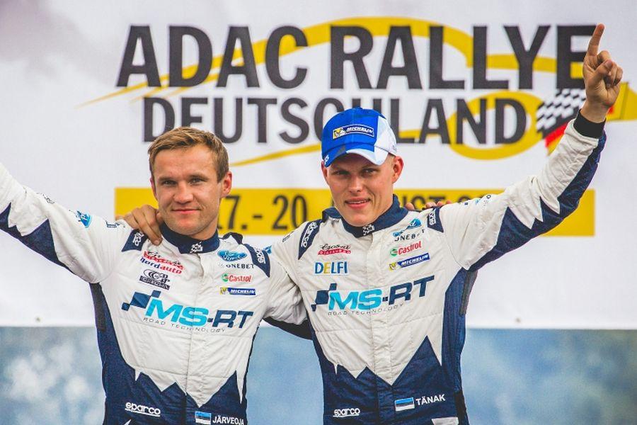 Ott Tanak and Martin Jarveoja