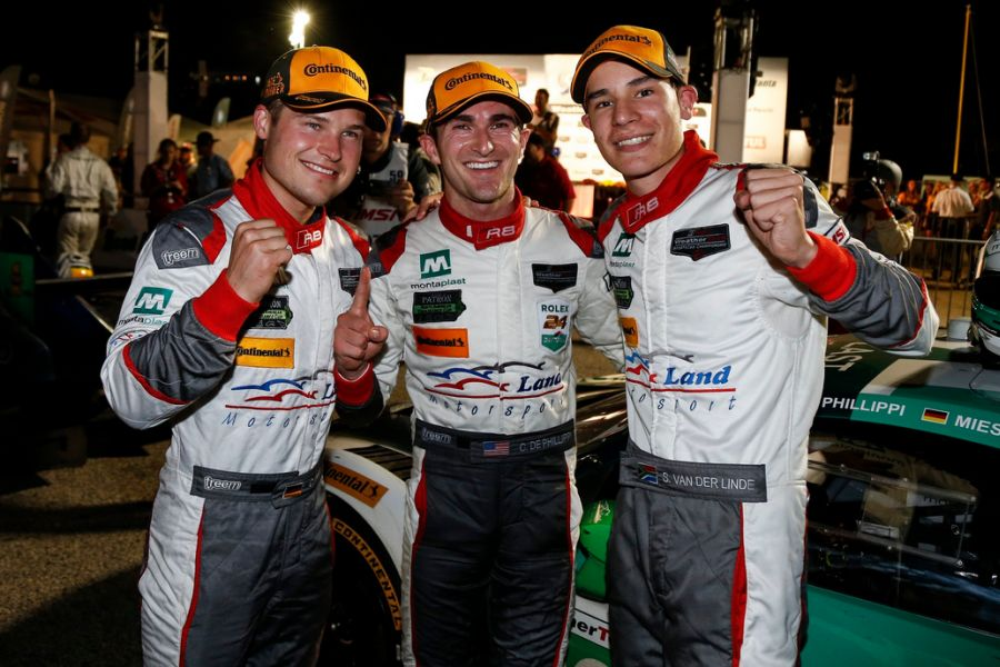 Petit Le Mans GTD class winners