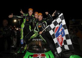 2017 Petit Le Mans winners Tequila Patron ESM