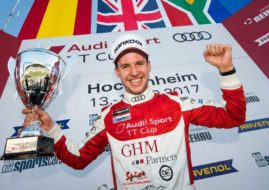 Philip Ellis 2017 Audi TT Cup champion