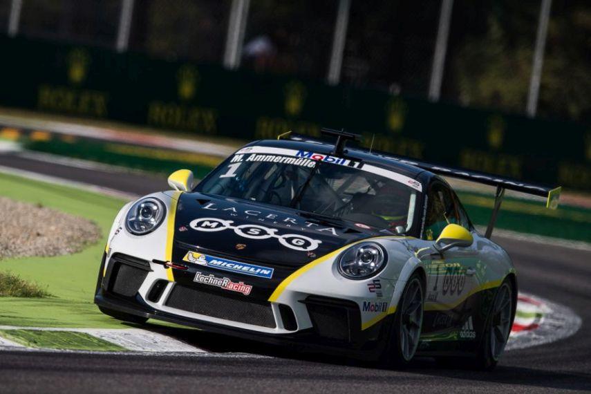 Porsche Mobil 1 Supercup Michael Ammermüller (GER, Lechner MSG Racing Team)