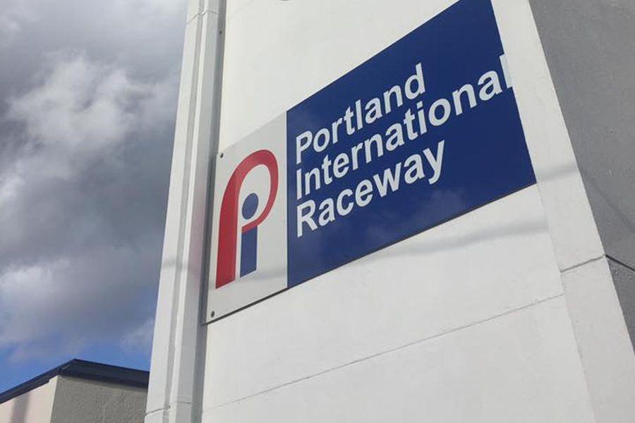 Portland International Raceway Sign