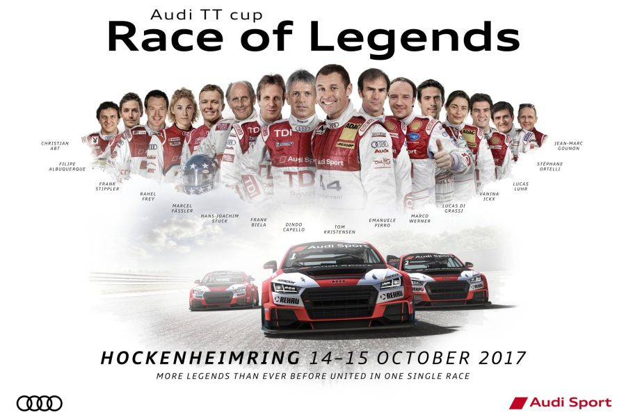 Race of Legends, Audi Sport TT Cup, Hockenheimring