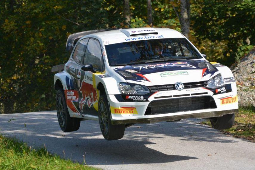 Raimund Baumschlager's Volkswagen Polo R WRC