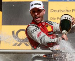 Rene Rast wins the DTM championship title in his rookie season
